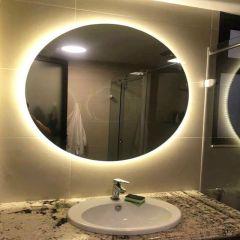 Gương tròn có đèn led hậu cảm ứng D60