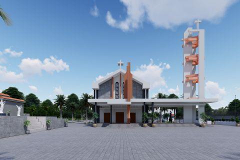 Nhà Thờ Rạch Đùng - Kiên Giang